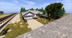View map now! The Minecraft Map, Small Town House, was posted by Verified. Minecraft City Buildings, Minecraft Architecture, Minecraft Houses, Minecraft Designs, Minecraft Projects, Minecraft Stuff, Minecraft Suburban House, Minecraft Blueprints, Town House