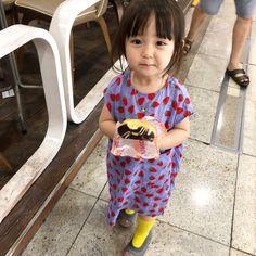 가끔 먹으면 진짜 맛있는 #던킨 - 예콩이&예콩맘 @agijagimin Cute Asian Babies, Korean Babies, Asian Kids, Cute Babies, Baby Boy Swag, Cute Baby Girl, Kids Girls, Baby Kids, Parejas Goals Tumblr
