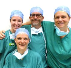 Our collegues of the surgery dept