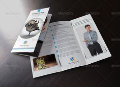 It's a Clean Tri Fold Brochure Template Design for Any types of companies. It is made by simple shapes Although looks very professional. Easy to modify, change colors, dimensions, get different combinations to suit the feel of your event. Features: 300 DPI, CMYK Color Mode, Print Ready File, Well Customized [...]
