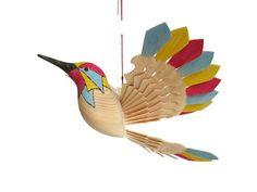 Hummingbird Art Wood Carving Woodworking Bird Mobile by MyFanbirds #etsyspecialt #integritytt