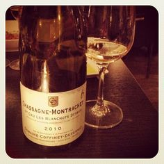 Simply amazing. Chassagne Montrachet is definitely one of my fave wines in the world.