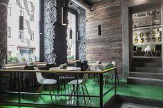 Fresh restaurant by Sundukovy Sisters, Moscow