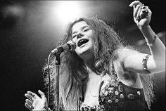 Janis Joplin by Elliot Landy