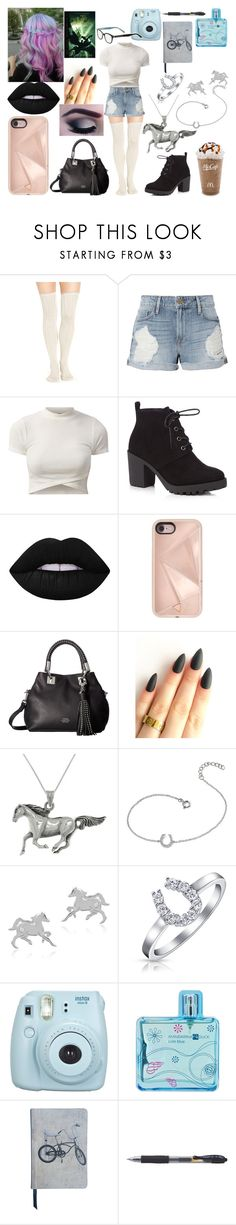 """Untitled #232"" by marieborrero ❤ liked on Polyvore featuring Urban Outfitters, Frame, Red Herring, Lime Crime, Rebecca Minkoff, Vince Camuto, Carolina Glamour Collection, Journee Collection, Bling Jewelry and Fujifilm"