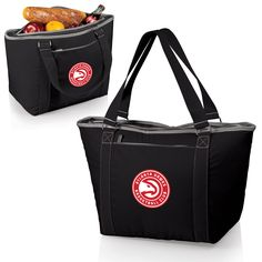 The Atlanta Hawks Topanga Cooler insulated tote bag in black by Picnic Time
