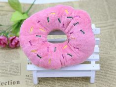 Sightly Lovely Pet Dog Puppy Cat Squeaker Quack Sound Toy Chew Donut Play Toys Type: DogsToys Type: Squeak ToysMaterial: PlushMaterial: PlushCountry/Region of M Homemade Cat Toys, Diy Cat Toys, Dog Chew Toys, Dog Toys, Diy Jouet Pour Chat, Pet Dogs, Dogs And Puppies, Dog Cat, Interactive Cat Toys