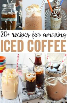 Coffee Recipes - Delicious recipes to try at home! Iced Coffee Recipes - Delicious recipes to try at home!Iced Coffee Recipes - Delicious recipes to try at home! Yummy Drinks, Healthy Drinks, Healthy Smoothies, Smoothie Recipes, Delicious Recipes, Tasty, Yummy Food, Top Recipes, Cake Recipes