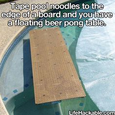 Party in the pool hack