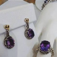 Ammethyst Ensemble by Shey Couture at Baxley Jewelers of Carrollton