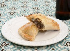 Steak and Stilton Pasty with a Cheddar Crust