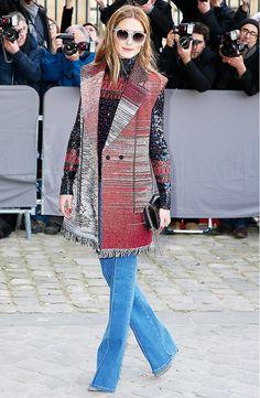 La imagen de moda: 5 looks de Olivia Palermo luciendo chaleco | Bloc de Moda: Noticias de moda, fashion y belleza Primavera Verano BAFWEEK