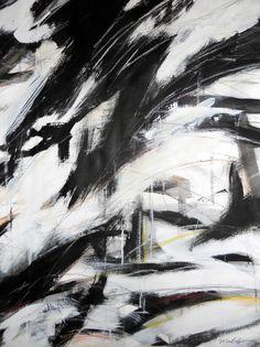 Mixed media: acrylic / oil pastel / graphite / colored pencil / rubbing wax crayon