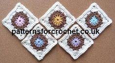 Crochet+Square+Motif,+Crochet+Square+Motif+|