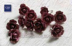 Pomelli di Rosa – Versione a 12 petali - Ferro Battuto. GBS Firenze