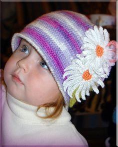 Croche pro Bebe: Chapeus e gorros em croche