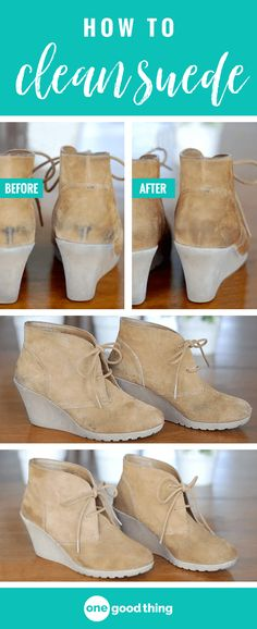 Cleaning suede doesn't have to be difficult – find out how to remove scuffs & stains, and make your suede shoes, jackets & accessories look like new again!