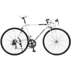 Amazon | DOPPELGANGER(ドッペルギャンガー) ロードバイク LIBEROシリーズOBELISK423-WH 700x23C ホリゾンタルロードフレーム採用モデル | ロードバイク | スポーツ&アウトドア