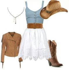 I love this cute little country outfit