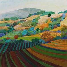 Vineyard Patterns  /  Robin Purcell