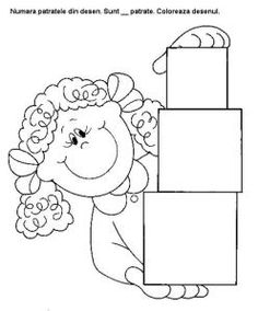 Printable worksheets for kids Geometric Shapes 34 Detailed Coloring Pages, Mandala Coloring Pages, Coloring Pages For Kids, Coloring Sheets, Coloring Books, Worksheets For Kids, Printable Worksheets, Toddler Activities, Activities For Kids