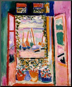 Ventana abierta (1905), Henri Matisse