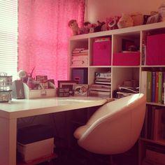Escrivaninha da http://labelmeorganized.blogspot.com.br/