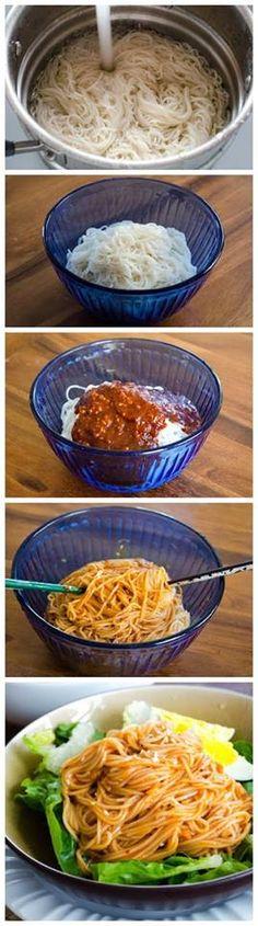 Bibimguksu Noodle Recipe
