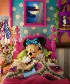 Minnie durmiendo