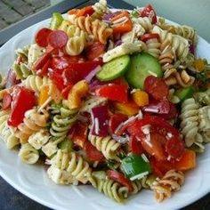 Pasta Salad with Homemade Dressing - Allrecipes.com