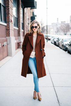 Rust Colored Coat (See Jane Wear)