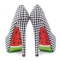 Melons High Heels Black | TaylorSays | eu.Fab.com