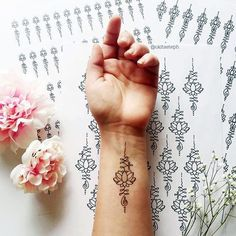 Unalome Tattoo Designs Every Girl Will Fall in Love With (11)