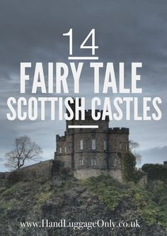 Best Castles In Scotland To Visit 14 Fairy Tale Castles You Must Visit In Scotland - Hand Luggage Only - Travel, Food & Home Fairy Tale Castles The Places Youll Go, Places To Go, Scotland Travel, Scotland Trip, Scotland Food, Scotland Vacation, Glasgow Scotland, Scotland Tourism, Visiting Scotland