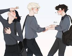Read 1 from the story imagenes drarry by (Alexa potter-malfoy) with reads. Draco Harry Potter, Harry Potter Anime, Harry Potter Comics, Arte Do Harry Potter, Harry Potter Ships, Harry Potter Drawings, Harry Potter Artwork, Harry Potter Universal, Drarry Fanart
