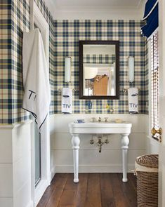 Create a contemporary space with plaids!  Pair with Colorhouse hue IMAGINE .01.