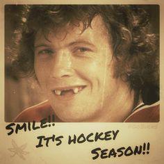 Hockey Season! Fun Except that it's Bobby Clarke