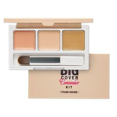 Etude House Big Cover Concealer Kit 3g >>> You can get additional details at the image link. (This is an affiliate link) #ConcealersandNeutralizingMakeup