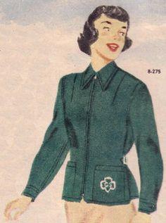 DECEMBER VINTAGE  GIRL SCOUT 1965 GIRL SCOUT LEADER