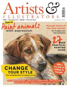 In the January issue of Artists & Illustrators, five top #artists swap media and experiment with an unfamiliar #paint. Learn from their triumphs (and mistakes). Plus, learn how to paint #animals with expression, try daily painting with 30 days of #watercolour and create #figure #sketches in oil with artist #JakeSpicer. Get your copy here: http://www.artistsandillustrators.co.uk/news/acrylic/1697/dont-miss-the-january-issue-of-artists-illustrators-