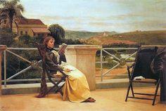 Leitura (1892). Almeida Júnior (1850-1899). óleo sobre tela (95 X 141). Pinacoteca do Estado de São Paulo, Brasil.