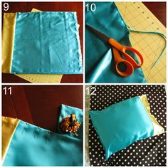 Satin Pillowcase For Curly Hair How To Make Satin Pillowcases  Ehow  Martha Craftsy Waftsy
