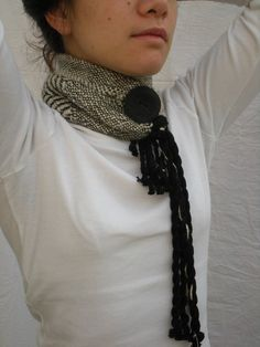 adorable scarf   My daughter would love this!!!1