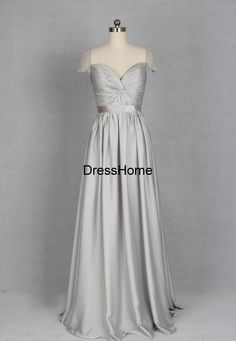 Silver Bridesmaid Dress Bridesmaid Dresses Silver / by DressHome
