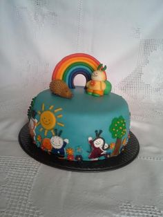 Bogyó és Babóca 2nd Birthday, Birthday Cakes, Food And Drink, Erika, Desserts, Foods, Food Cakes, Birthday, Second Anniversary