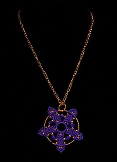 Micro macrame necklaces by Nadja Shields. Visit Imbali Crafts for marame…
