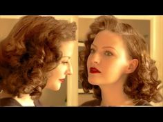 ♥ EASY PIN CURL SET FOR RETRO WAVES ♥ - YouTube