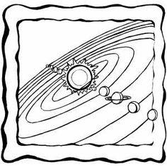 solar system printable Montessori Pinterest Solar system