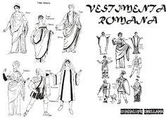 vestimenta romana - Buscar con Google
