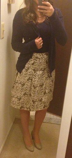 work/ church outfit idea